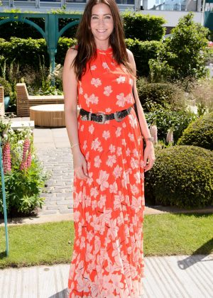 Lisa Snowdon - Chelsea Flower Show in London