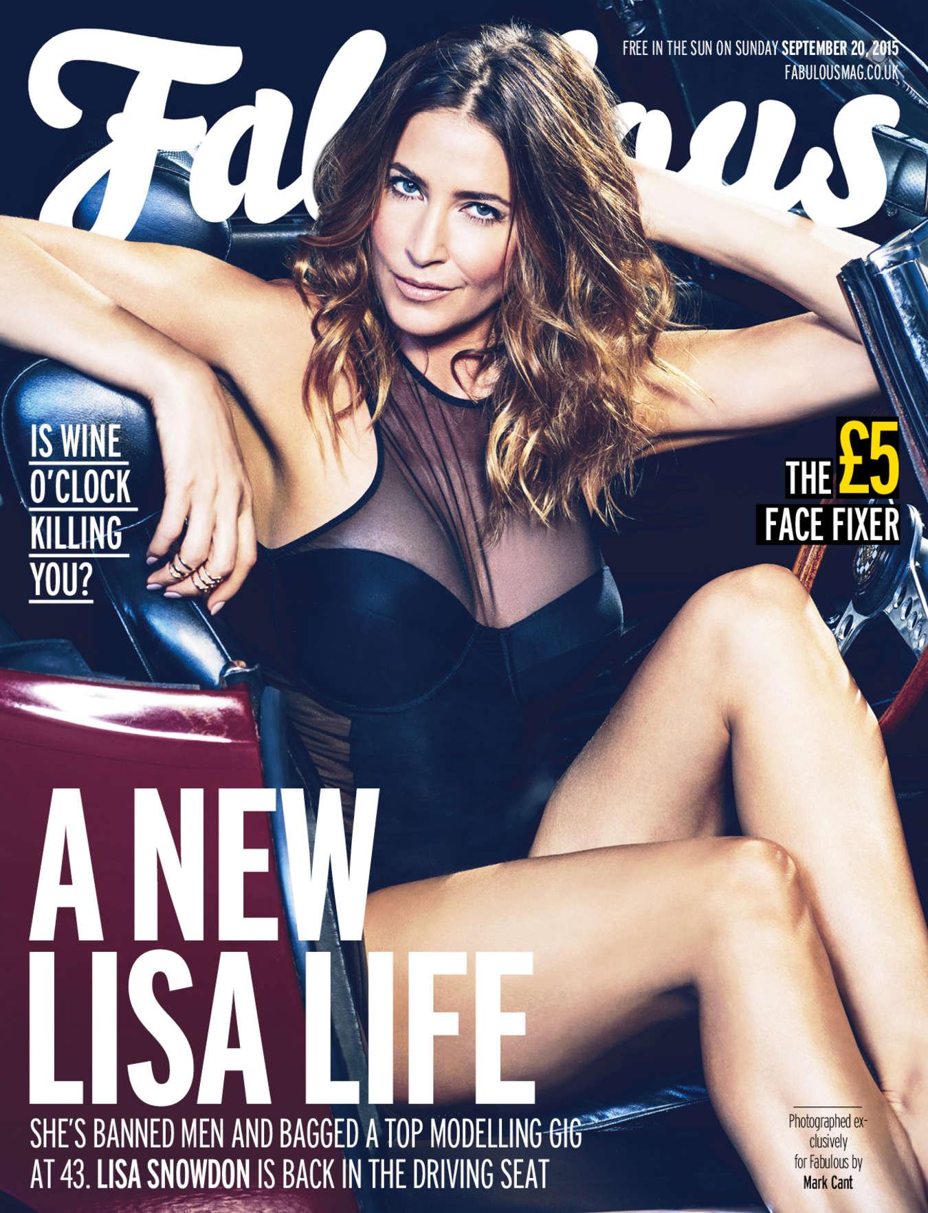 Lisa Snowdon 2015 : Lisa Snowdon: Fabulous Magazine 2015 -03