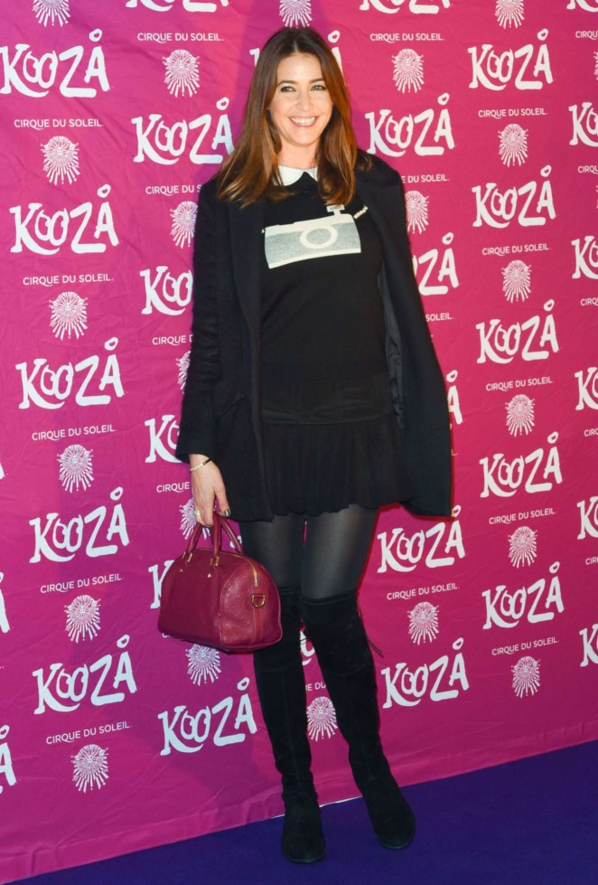 Lisa Snowdon - Kooza By Cirque Du Soleil VIP Performance in London