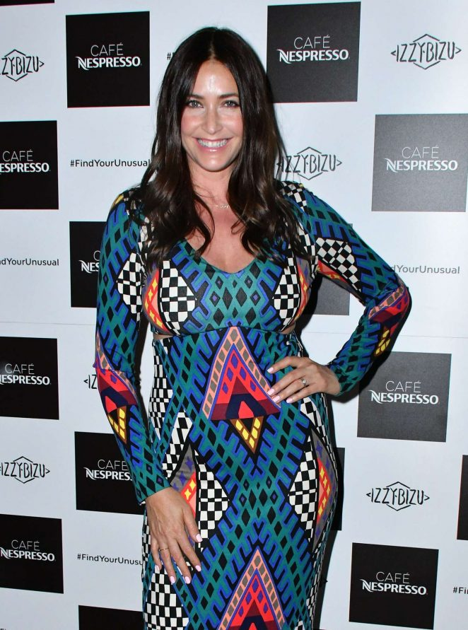 Lisa Snowdon - Nespresso Launch Party in London
