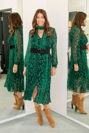 Lisa Snowdon - On 'This Morning' TV Show in London