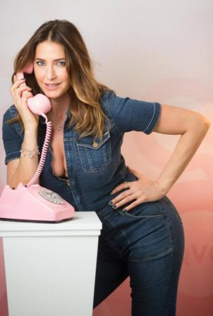 Lisa Snowdon - QVC Calls Photoshoot 2020
