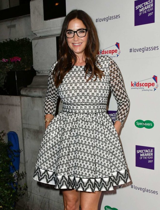 Lisa Snowdon - Spectacle Wearer Of The Year in London