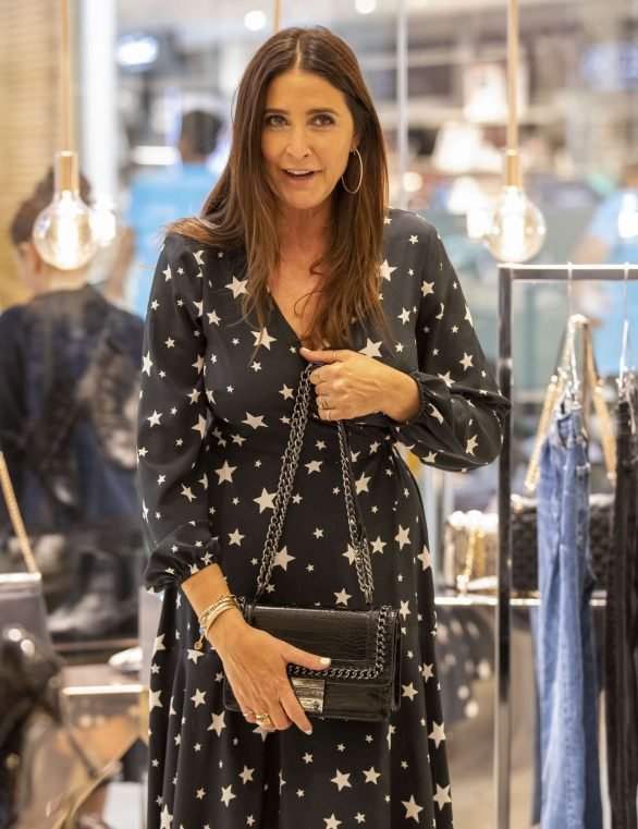 Lisa Snowdon - Westfield White City for a Carvela Styling Event in London