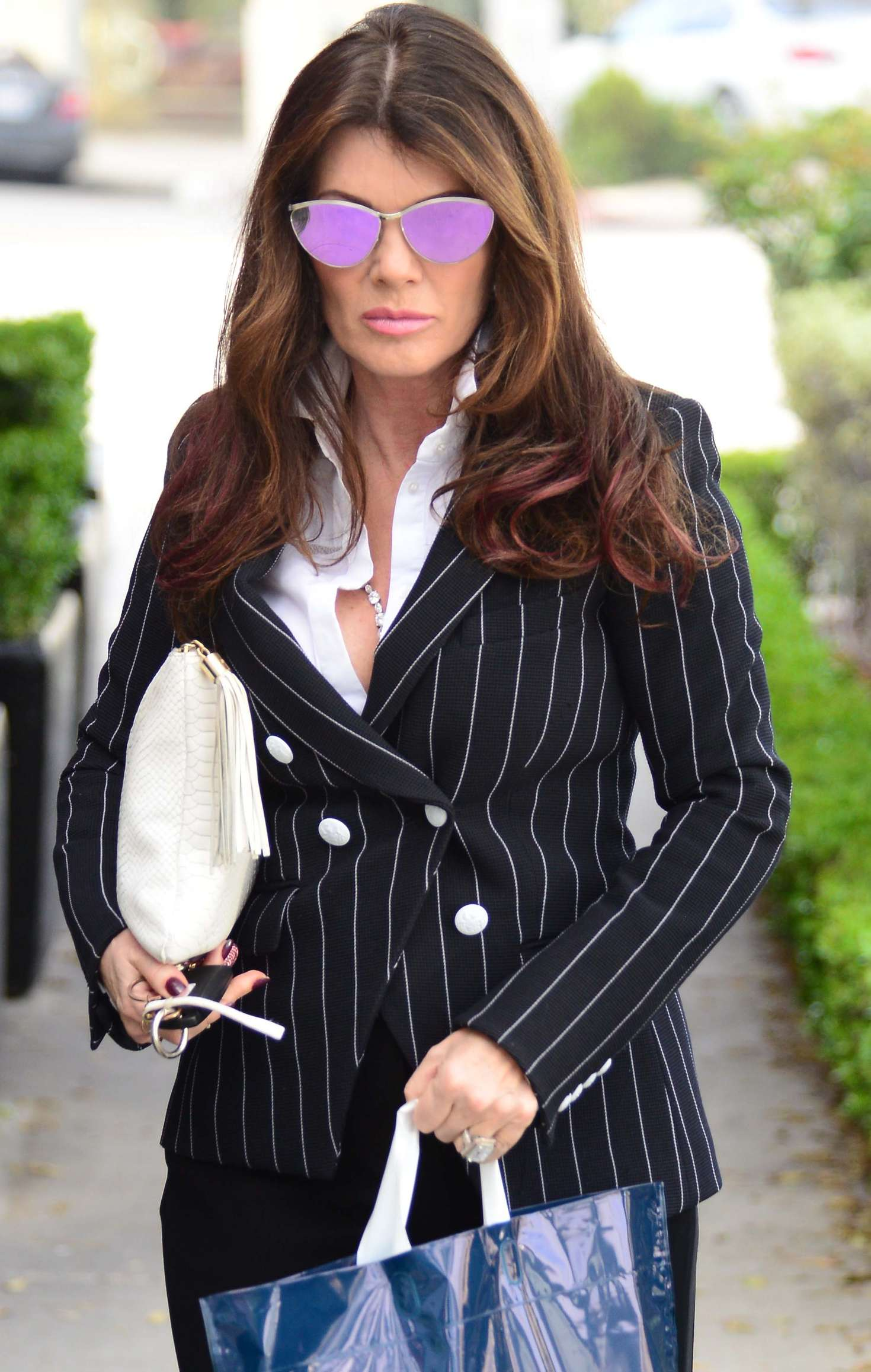 Lisa Vanderpump Arrives At Petrossian In Beverly Hills
