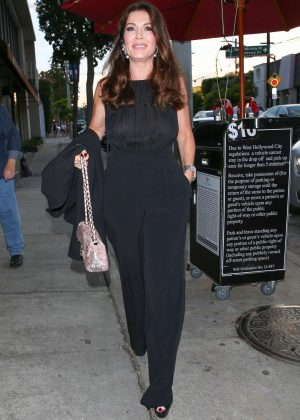 Lisa Vanderpump at Craig's in West Hollywood