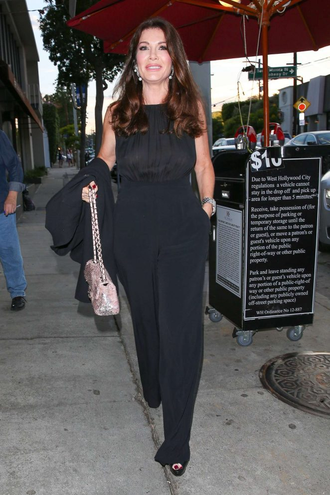 Lisa Vanderpump at Craig's in West Hollywood