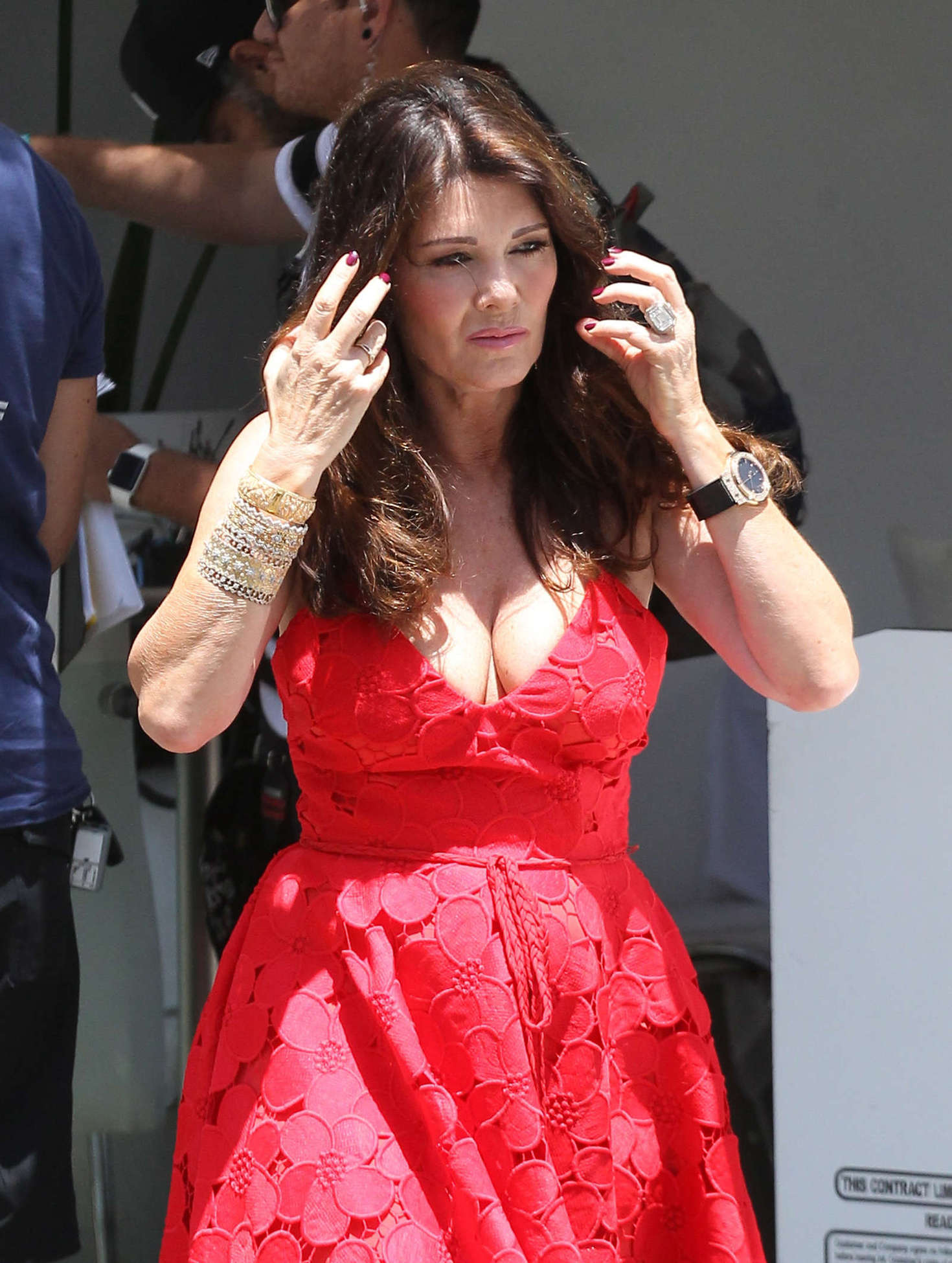 Lisa Vanderpump Filming Real Housewives Of Beverly