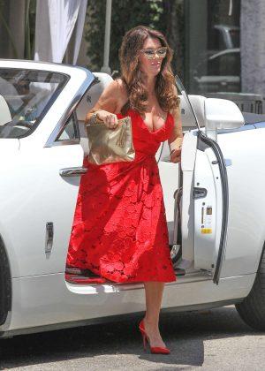 Lisa Vanderpump Filming Real Housewives Of Beverly