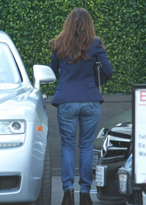 Lisa Vanderpump in Jeans -01