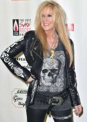 Lita Ford - 5th She Rocks Awards in Anaheim