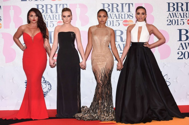 Little Mix - 2015 BRIT Awards in London