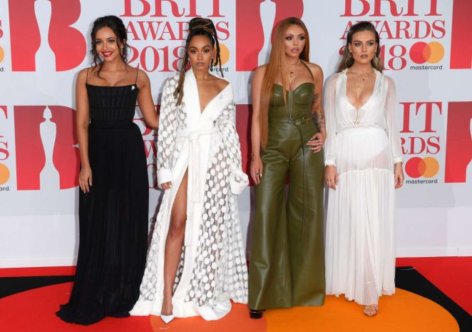 Little Mix - 2018 Brit Awards in London