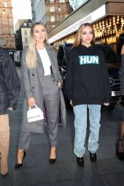 Little Mix - Arrivals as they promote new song at Radio stations in London