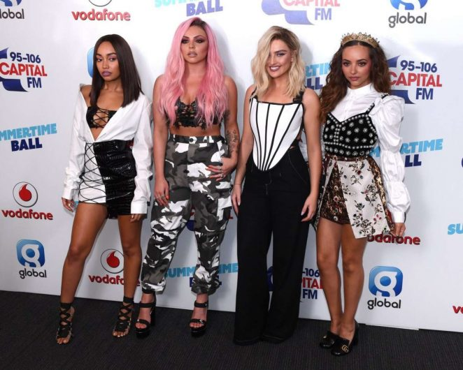 Little Mix - Capital Radio Summertime Ball 2017 in London