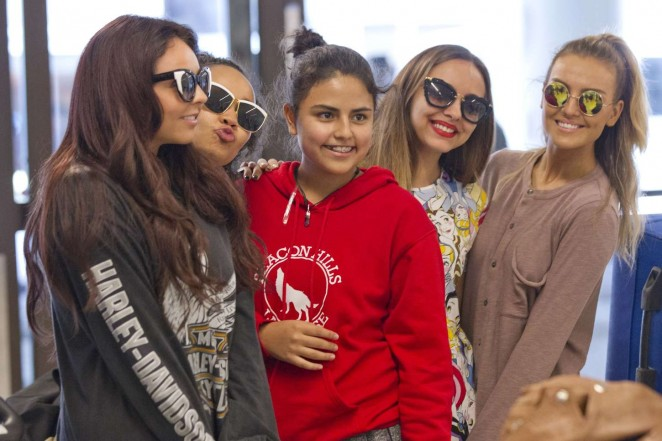 Little Mix - LAX airport in LA