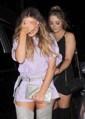 Little Mix - Leaving Drama Nightclub in London