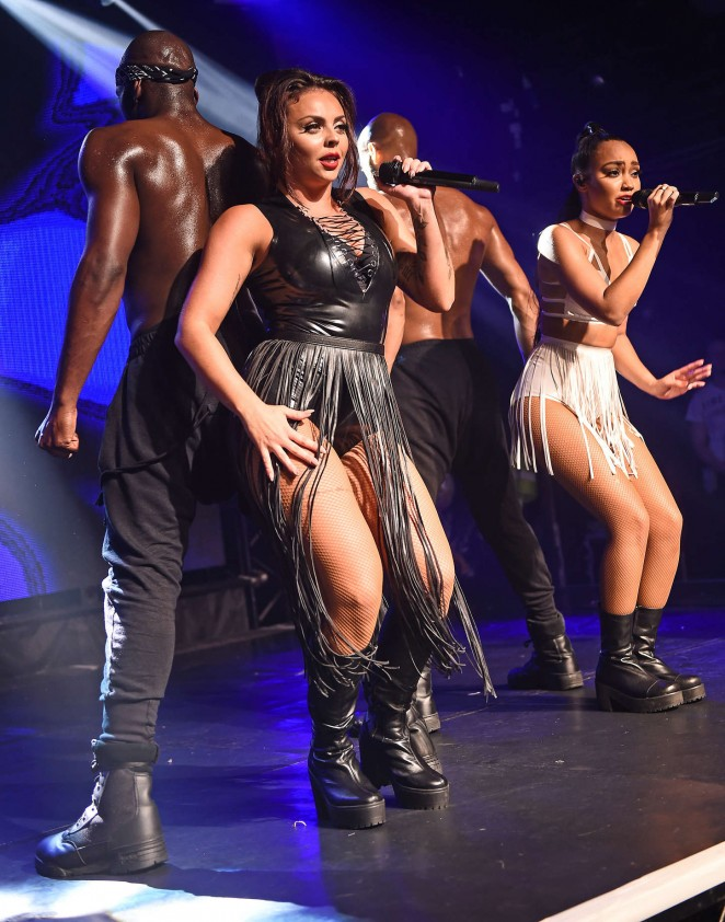 Little Mix - Performing at GAY Nightclub in London