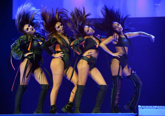 Little Mix - Performing at the Dangerous Woman Tour in Phoenix