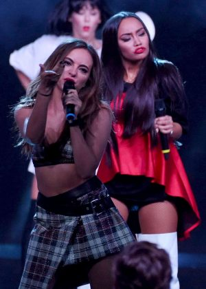 Little Mix - Performing on The X Factor in Milan