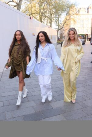 Little Mix - Steps out in London
