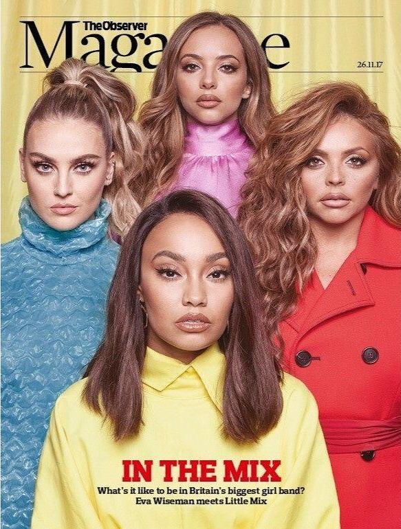 Little Mix - The Observer Magazine (November 2017)