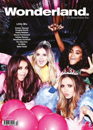 Little Mix - Wonderland Magazine (February 2015)