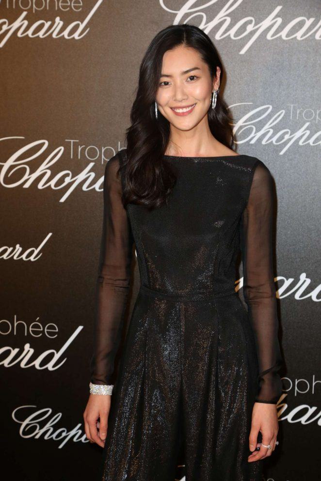 Liu Wen - Chopard Trophee Event at 70th Cannes Film Festival