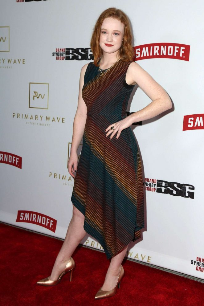Liv Hewson - Primary Wave 11th Annual Pre-Grammy Part in LA