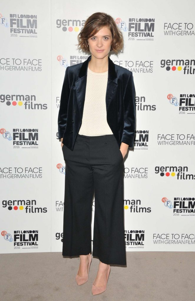Liv Lisa Fries - 'Face To Face With German Films' Photocall at 60th BFI London Film Festival
