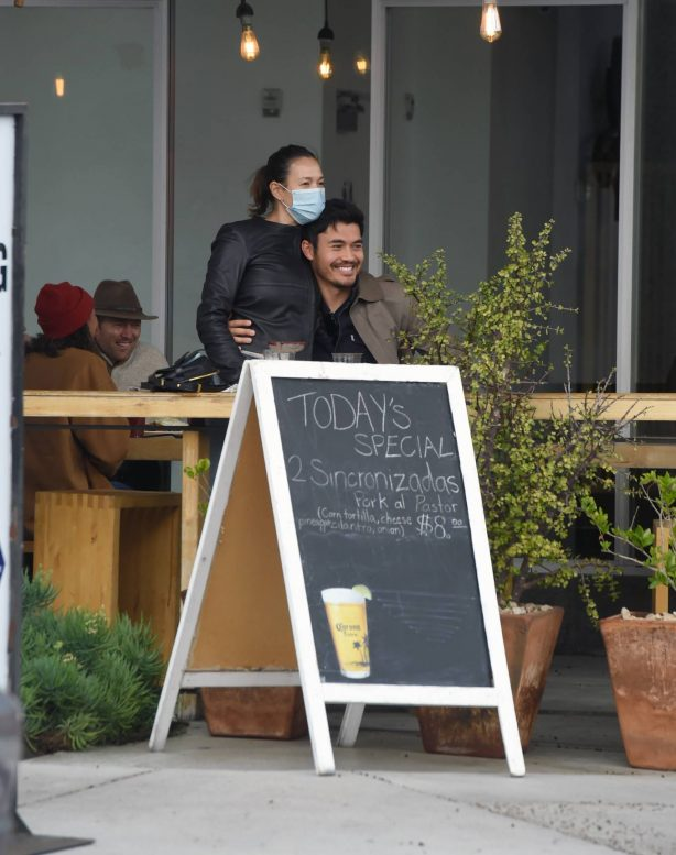 Liv Lo and Henry Golding - Spotted in Los Angeles
