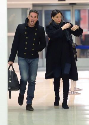 Liv Tyler - Arrives at JFK Airport in New York