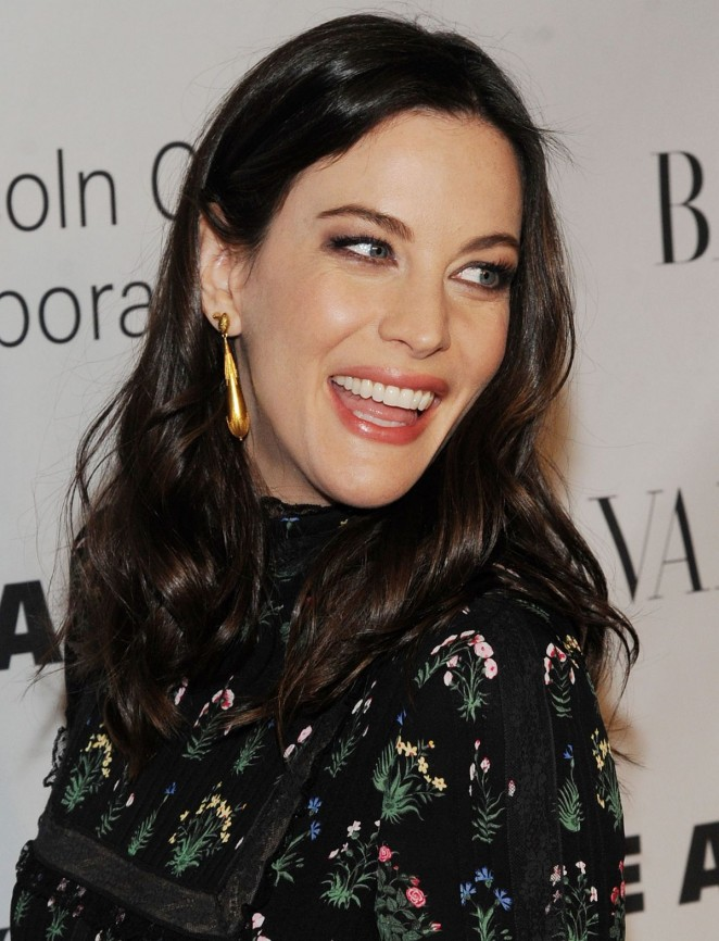Liv Tyler At An Evening Honoring Valentino Gala In New York