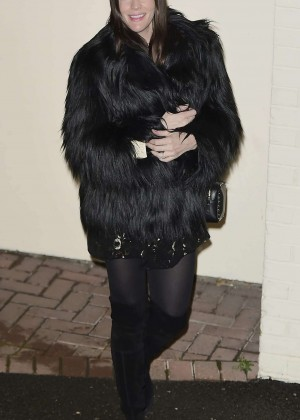 Liv Tyler at X Factor Studios in London
