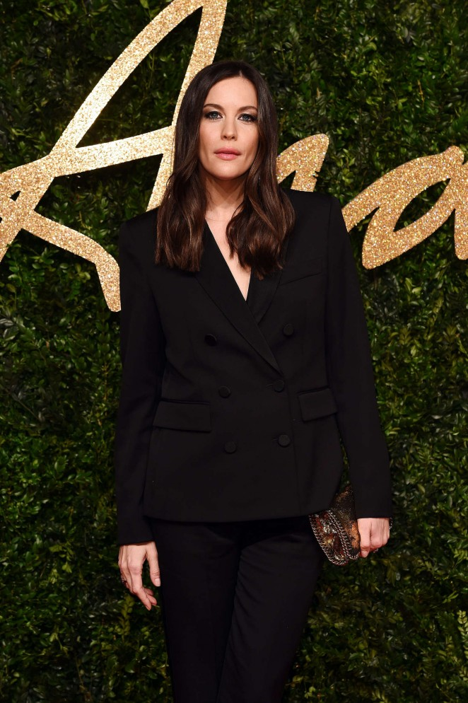 Liv Tyler - British Fashion Awards 2015 in London