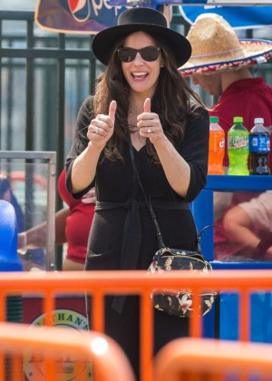 Liv Tyler - Celebrates Her Birthday in Brooklyn