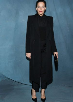 Liv Tyler - Givenchy Fashion Show in Paris