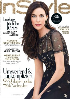 Liv Tyler -  InStyle Germany Magazine (December 2016)