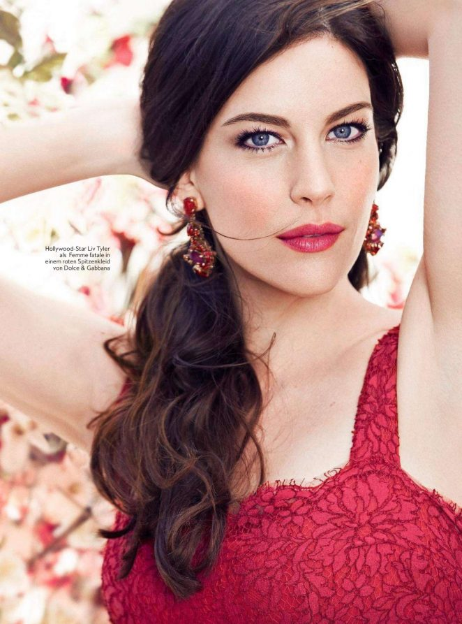 Liv Tyler:  InStyle Germany 2016 -03