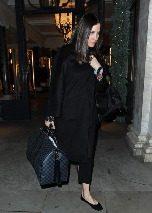 Liv Tyler - Leaving a photoshoot at Belstaff in Mayfair