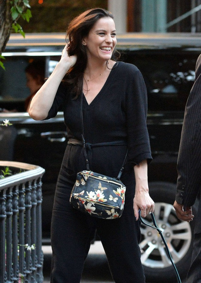Liv Tyler – Out and about in NYC