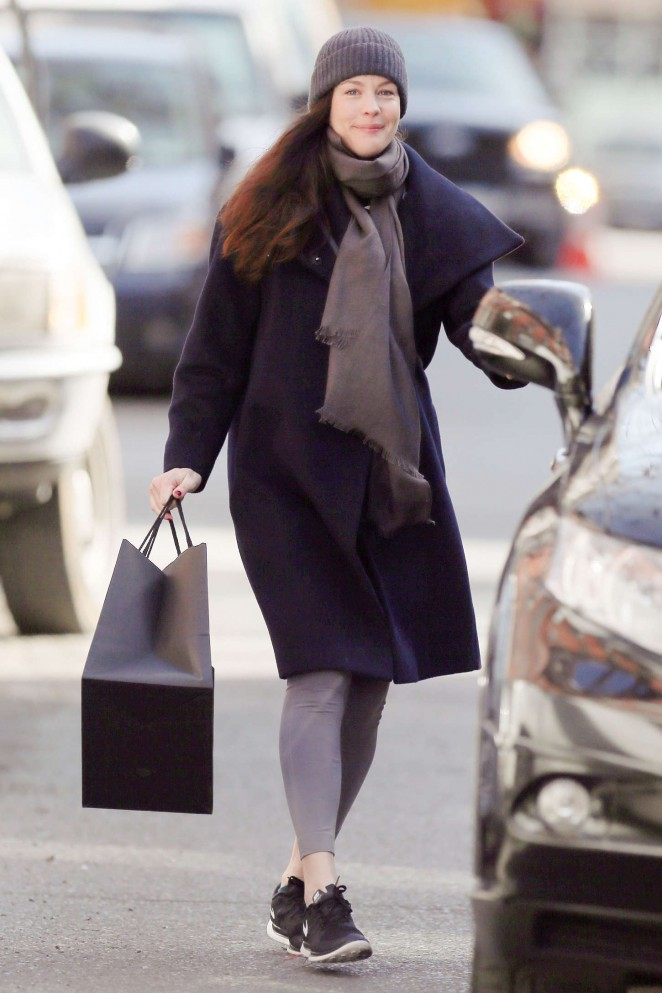 Liv Tyler – Out in NYC