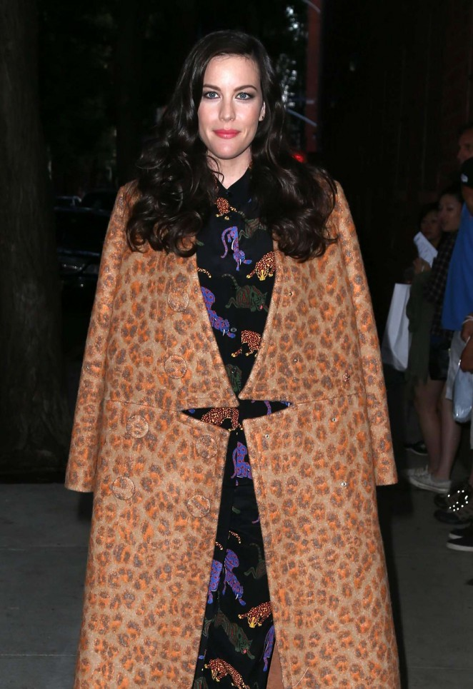 Liv Tyler - Stella McCartney Spring 2016 Presentation in NYC