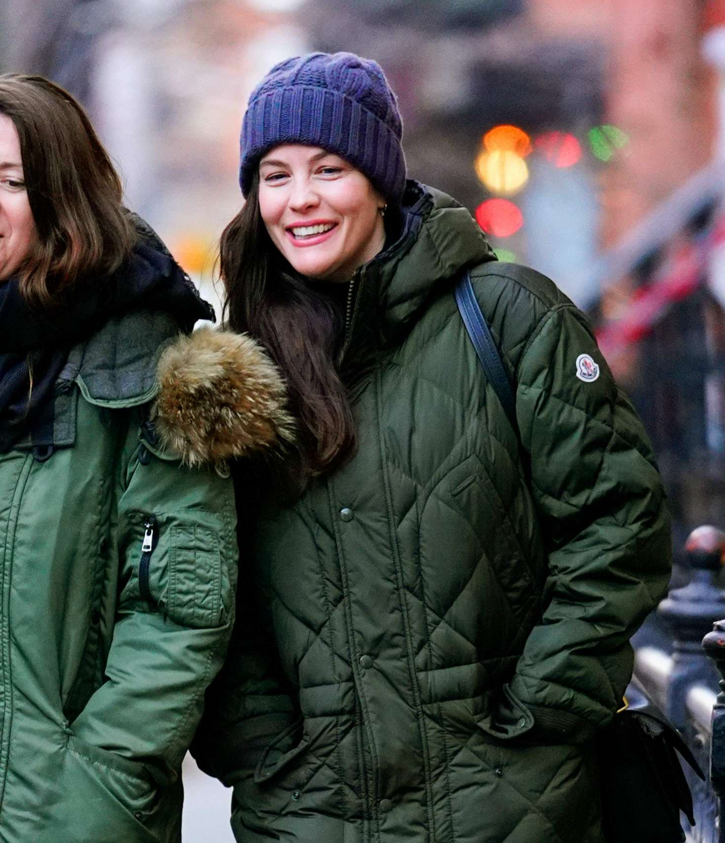 Liv Tyler 2018 : Liv Tyler with a friend out in New York -01