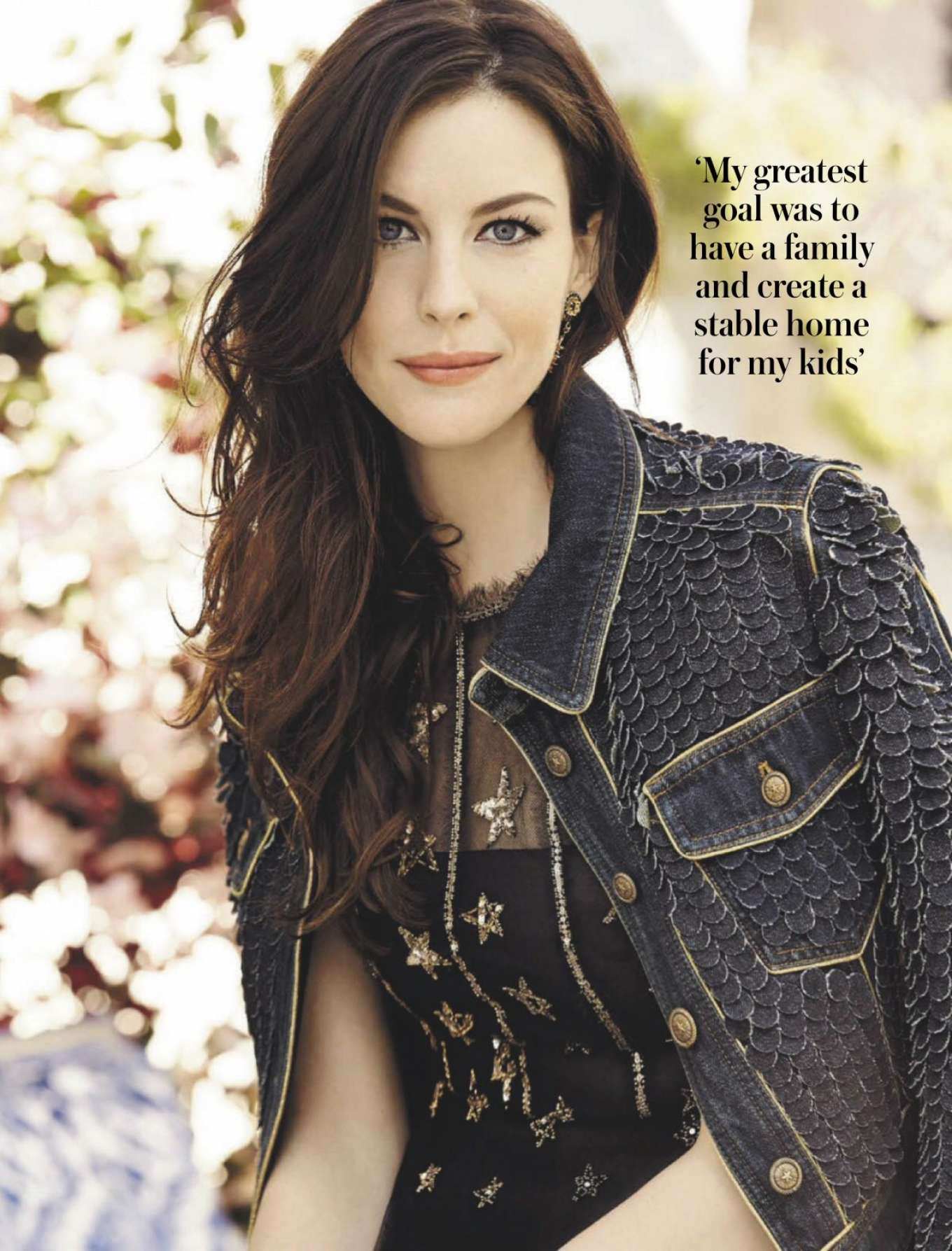Liv Tyler - Woman and Home Magazine (South Africa - September 2019)