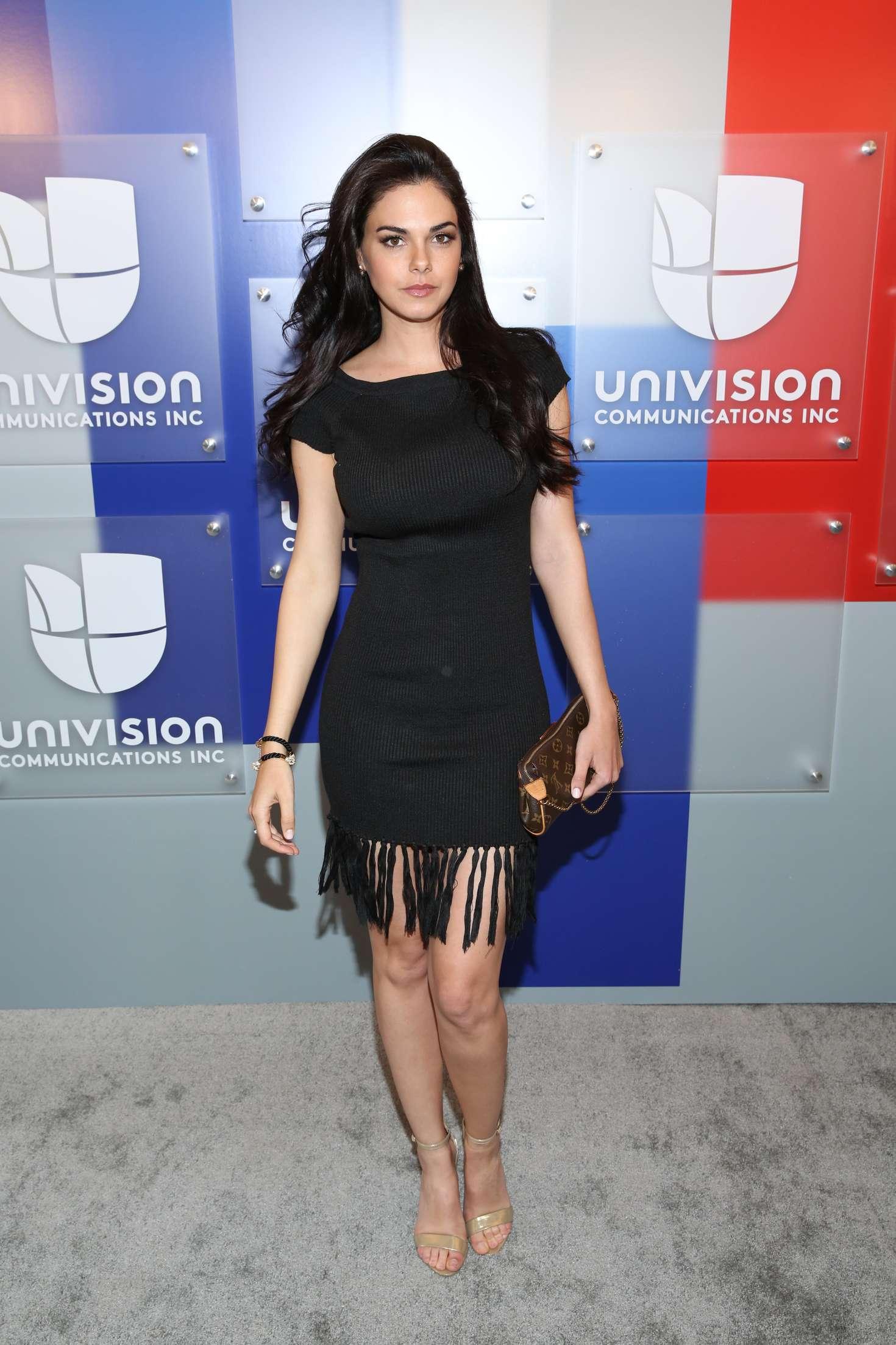 Back to post Livia Brito – Univision's 2016 Upfront Red Carpet in ...