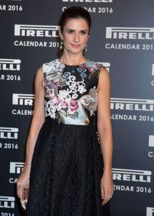 Livia Giuggioli - Pirelli Calendar 2016 Gala Evening in London