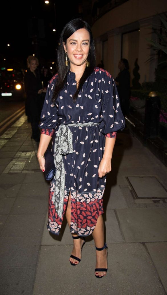 Liz Bonnin - The Broadcast Awards 2020 in London