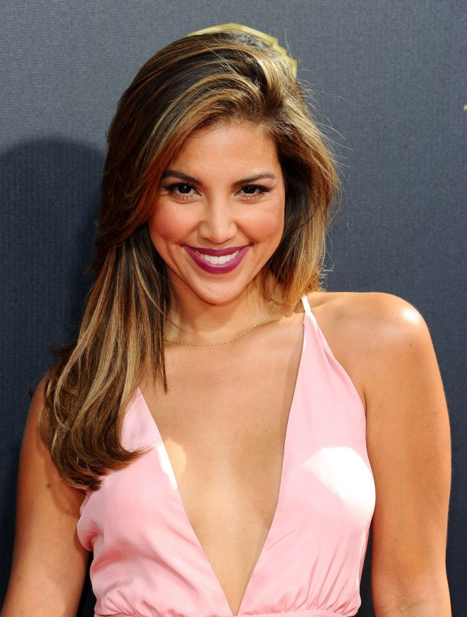 Liz Hernandez - 2015 Daytime Emmy Awards in Burbank