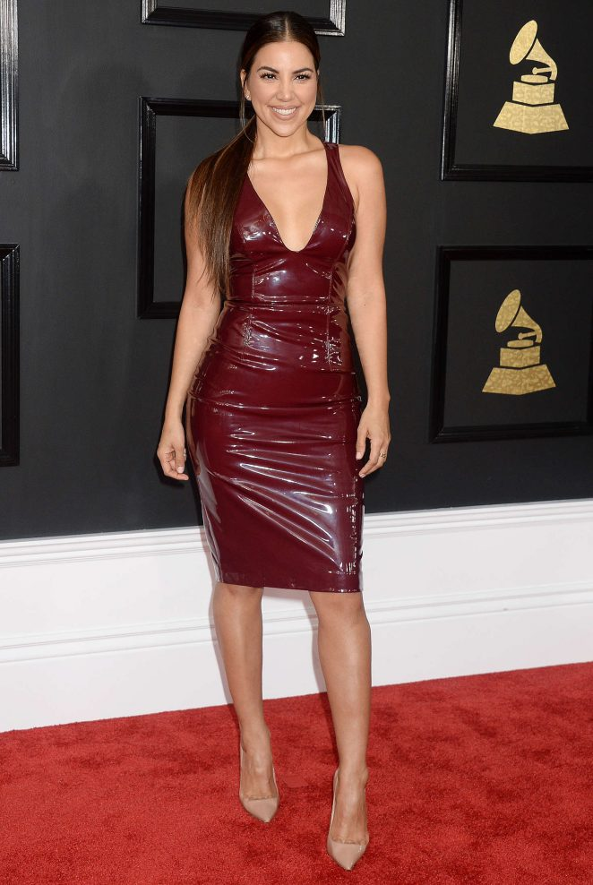 Liz Hernandez - 59th GRAMMY Awards in Los Angele